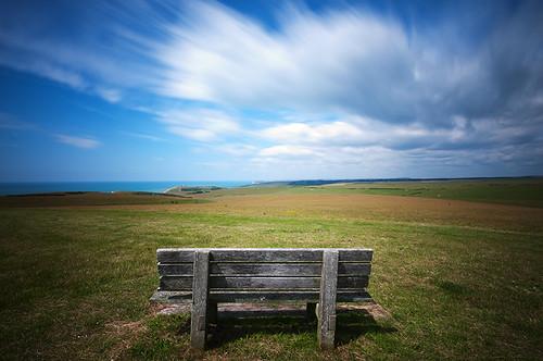 longexposure clouds bench landscape nikon sigma 1020 southdowns nd110 d300s