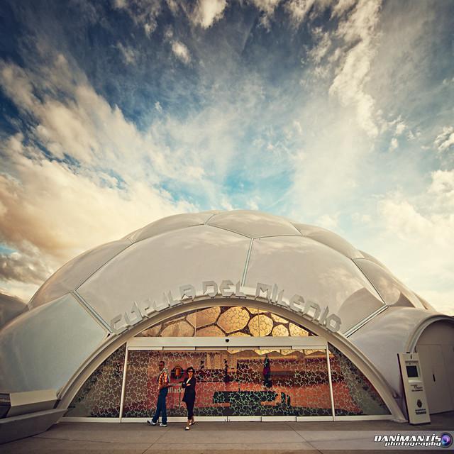 ...cúpula del milenio...