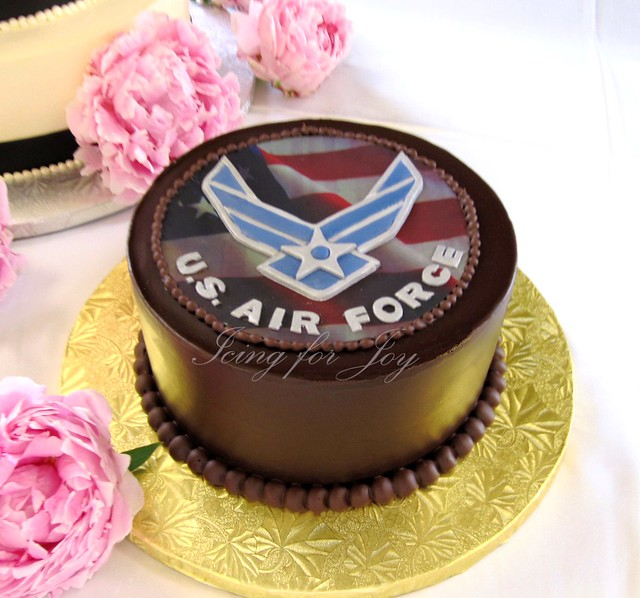 Us air force grooms cake flickr photo sharing for Air force cakes decoration