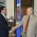 Secretary General Meets with the President of the Senate of Colombia