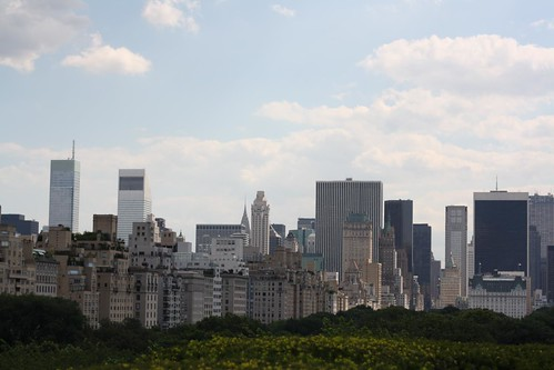 View from the roof of the Met