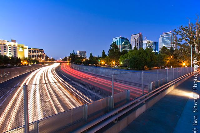 Sacramento - Rush Hour or Blue Hour? or Both?