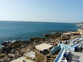 Costa cerca de Tánger, Marruecos