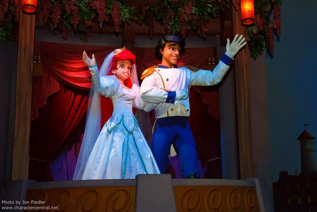 Disneyland June 2011 - The Little Mermaid - Ariel's Undersea Adventure