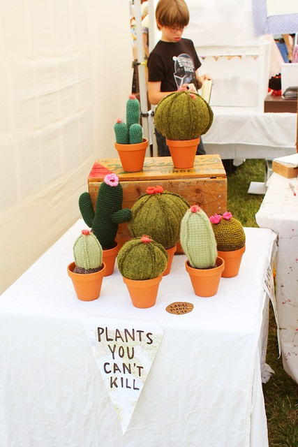 Renegade craft fair los angeles crocheted plants from for Craft fairs los angeles