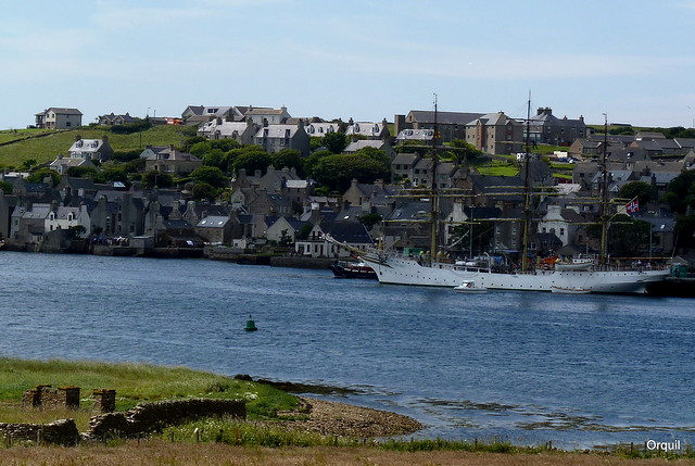 A Tall Ship Visitor - Stromness