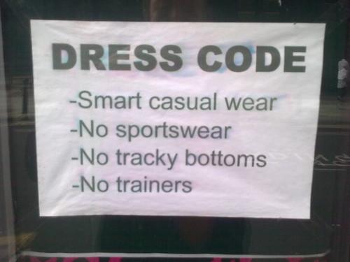Dress Code: No Scallies