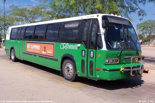 bus rapids cedar transit service crt2924