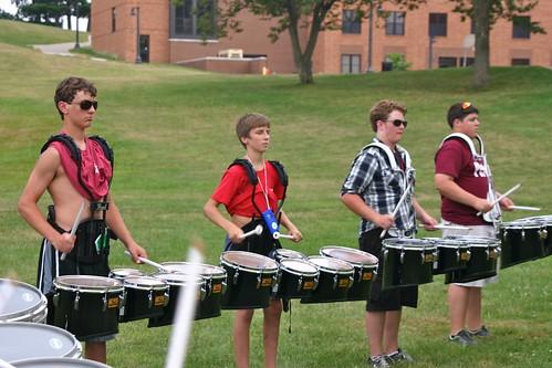 2011 Wadsworth HS Band Camp - 19