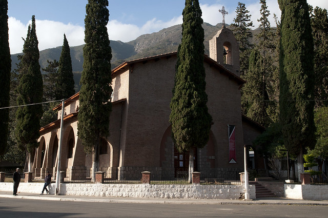 Chiesa in Las Pirquitas (dove si trova la diga che da acqua a tutta la zona compreso San Fernando del Valle del Catamarca)