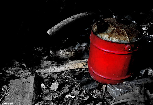 Red gas can