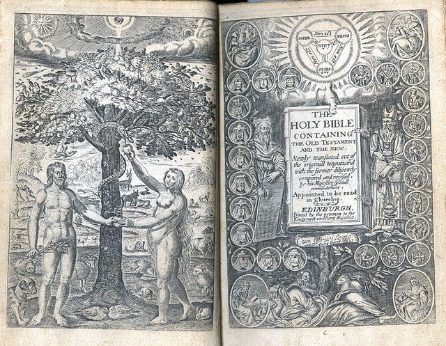 The Holy Bible containing the Old Testament and the New: newly translated out of the originall tongues ... Edinburgh, 1633.