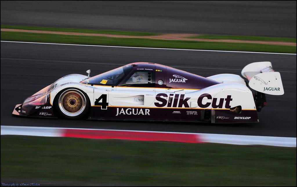 silverstone classic 2011 - twr 'silk cut' jaguar xjr-11 | flickr