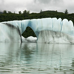 iceberg #2 along the Alsek river