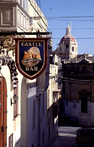 Malta Gozo Castle Bar