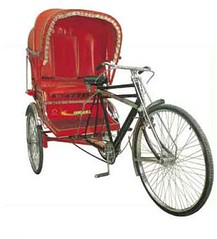 motorcycle(0.0), carriage(0.0), bicycle(0.0), cart(0.0), bicycle trailer(1.0), wheel(1.0), vehicle(1.0), land vehicle(1.0), tricycle(1.0),