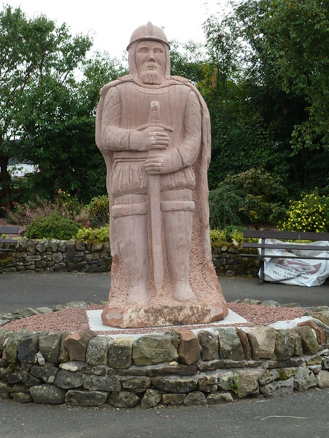 Lang Sandy Armstrong Statue, Scottish Borders