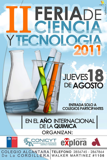 afiche feria de ciencia y tecnologia 2011 flickr photo