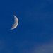 Waxing Crescent in Lisbon by Hugo Alexandre Cruz on the 4th of August 2011