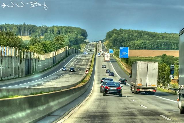 Kasseler Berge Autobahn