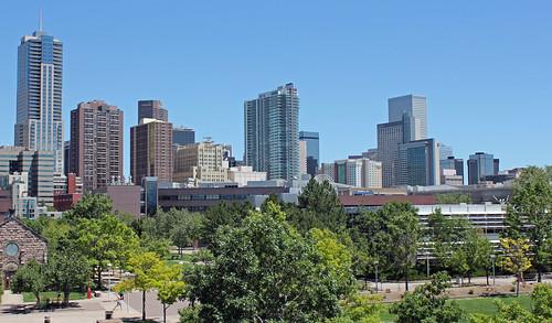 Denver Skyline (August, 2011)