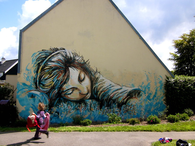 Alice Pasquini - Brest (FR) by AliCè