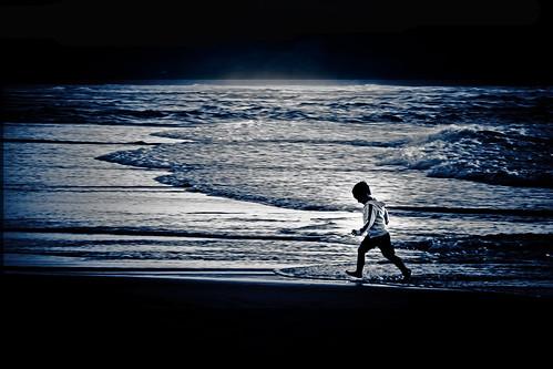 Jugando con la luz de la luna
