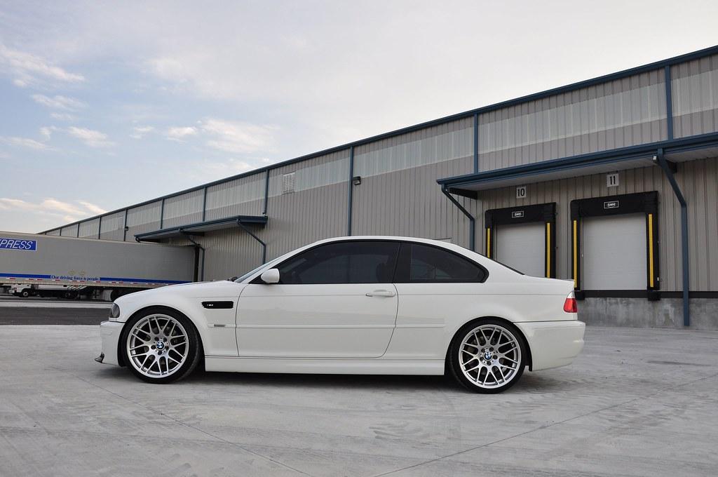 E46 Alpine White E46 M3 6 Speed Mint
