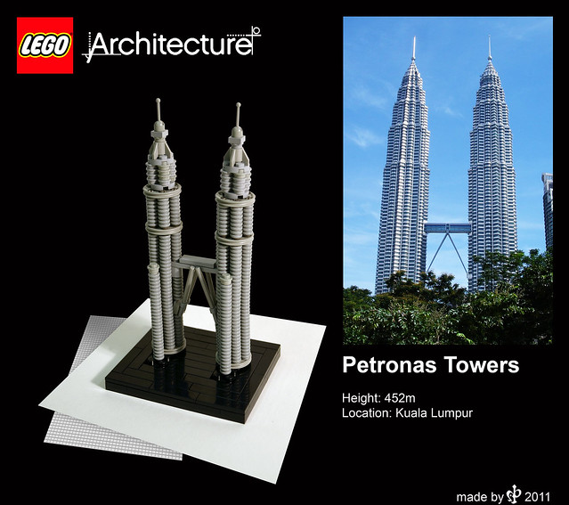 Lego Architecture Twin Towers image gallery