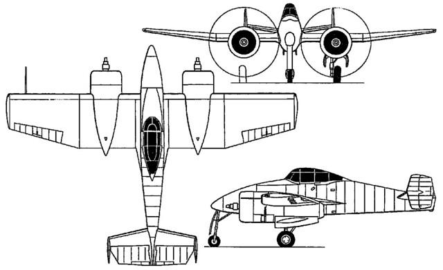 Grumman XP-50 3V