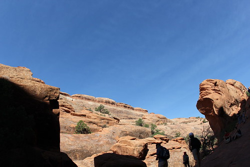 Wall Arch as it looked in 2011, Devil's Garden Trail, Arches National Park, Utah