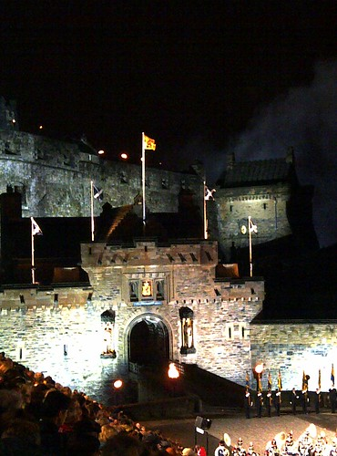 Castle Entrance at Edinburgh Military Tattoo
