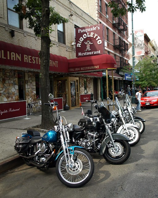 ... Davidson Motorbikes, Bronx Little Italy, New York City | Flickr