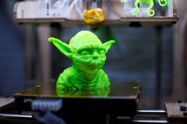 3D Printing Yoda