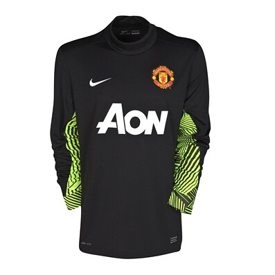 David de Gea – Manchester United Home Goalkeeper Shirt 2011/12.