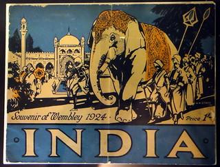 India - Souvenir of Wembley 1924 (British Empire Exhibition)