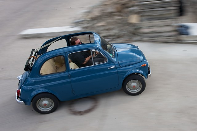 me and my 39 58 fiat 500 n taken by flickr photo sharing. Black Bedroom Furniture Sets. Home Design Ideas