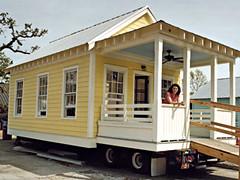 Modular home katrina cottage modular homes for Building a permanent tiny house