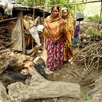 Women Leaving House - Rangamati, Bangladesh
