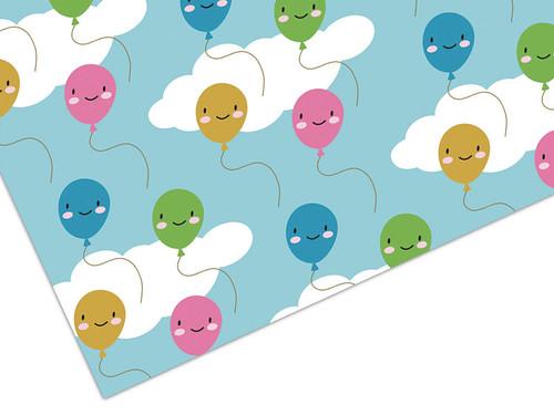 Kawaii Balloons Gift Wrap