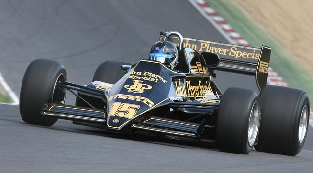 Lotus (clássica), equipe histórica de Formula 1 de 1983 - by Keith Last-flickr.com