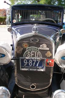 1931 Model A grill