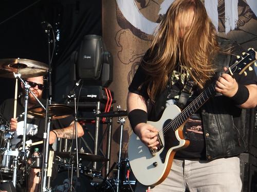 Cancer Bats at Ottawa Bluesfest 2011