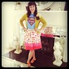 @katespadeny skirt with superman shirt. fun Fridays!