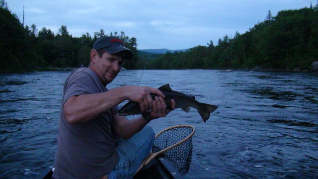 Craig with a hefty fish