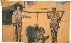 Leon Golub, Mercenaries I, 1976