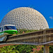 Spaceship Earth + Green Monorail