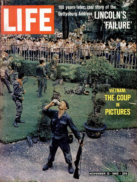 LIFE Magazine NOVEMBER 15, 1963 (1) - VIETNAM: THE COUP IN PICTURES