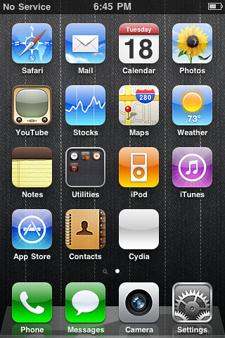 how to add photo to home screen iphone