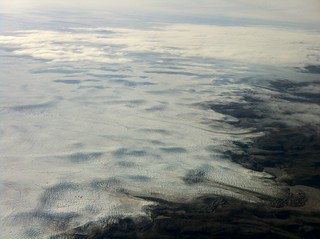 Edge of the Greenland ice sheet